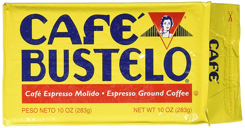 Café Bustelo Coffee Espresso Ground Coffee Brick, 16 Ounces (Pack of 12)  $28.82
