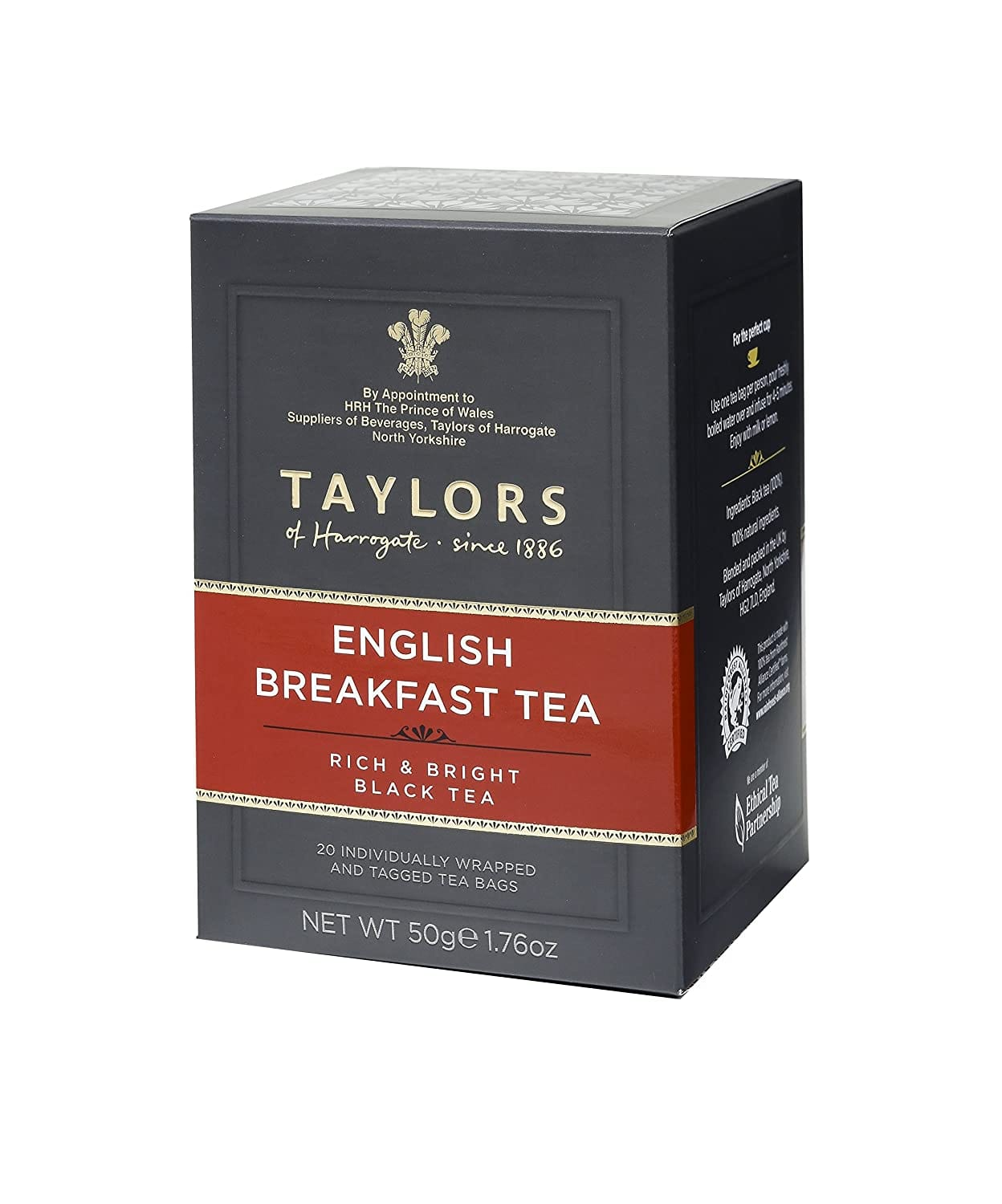 Taylors of Harrogate English Breakfast, 20 Count (Pack of 6) $13.40