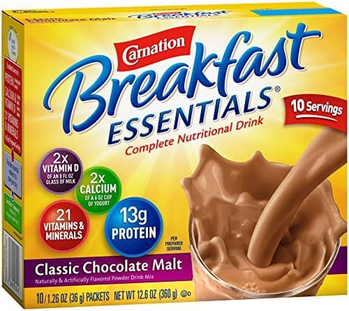 Carnation Breakfast Essentials 6x10packs Chocolate - $19.98 ($16.98 w/ 15% S&S)