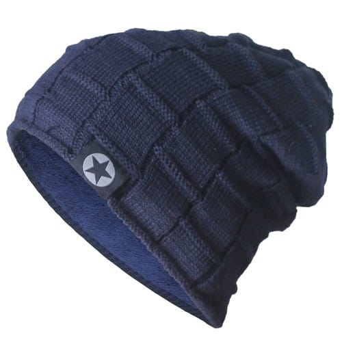 Bodvera Winter Knit Wool Warm Hat Thick Soft Stretch Slouchy Beanie Skully Cap $7.64 @Amazon