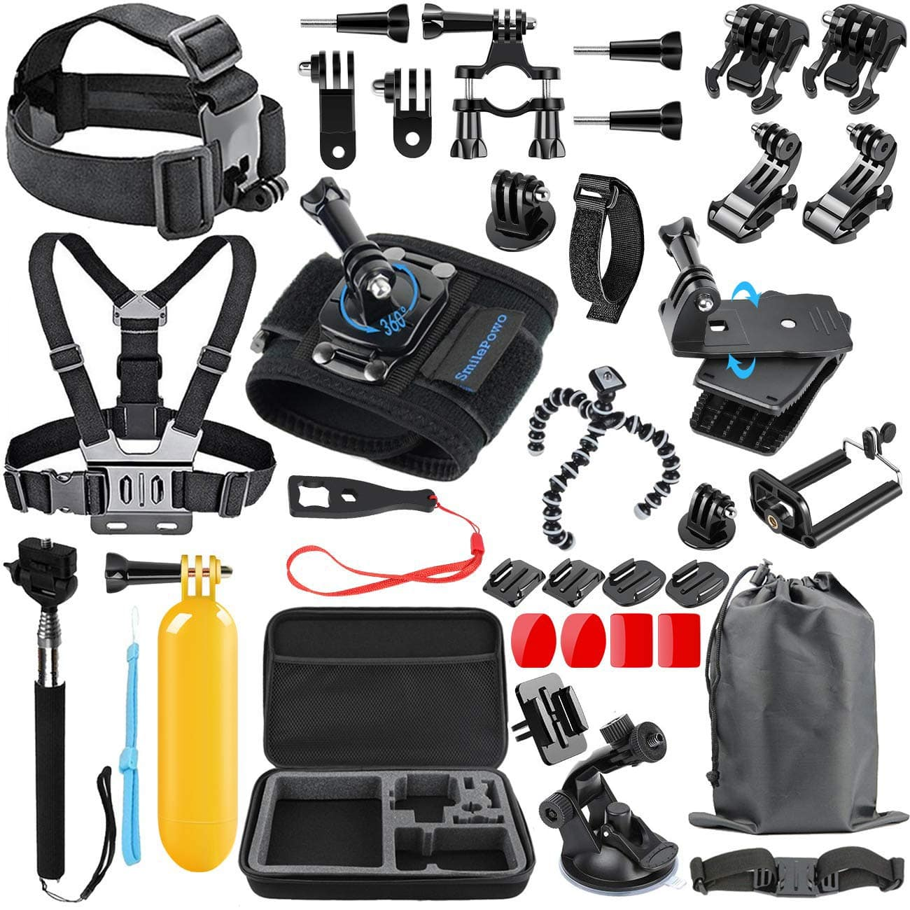48-in-1 Camera Accessories Kit for GoPro $14.99 @Amazon