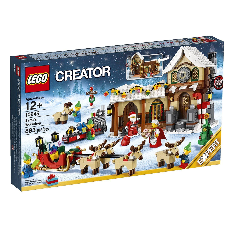 Lego Creator Santa's Workshop $55 Amazon