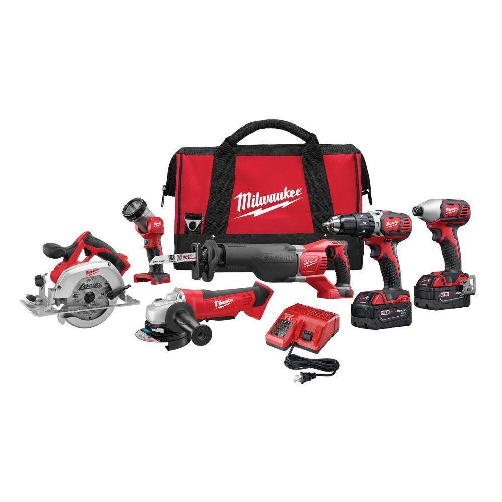 Milwaukee 6 piece tool