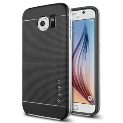 Newegg Spigen Neo Hybrid case for Samsung Galaxy S6, S6 Edge, Note 4, iPhone 6/6+, 80% off + Free Shipping