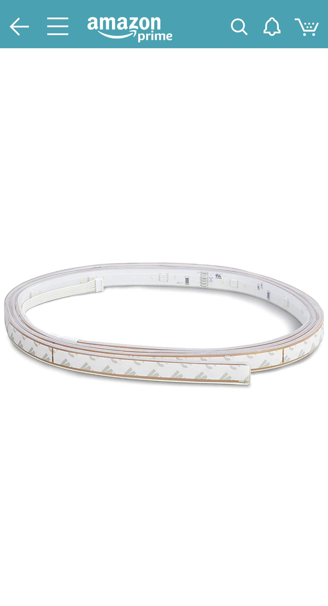 Philips Hue LightStrip Plus Dimmable LED Smart Light Extension (Requires Lightstrip Base & Hue Hub, Works with Alexa, HomeKit & Google Assistant) YMMV? $17.59