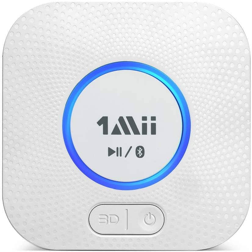 1Mii B06 Plus Bluetooth 5.0 Receiver, HiFi Wireless Audio Adapter with 3D Surround aptX Low Latency $16.79 + Free Shipping