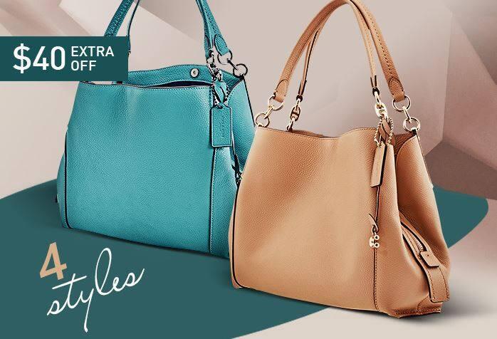 Jomashop.com: COACH Ladies Dalton 28 Pebble Leather Shoulder Bag - $179.99 Shipped