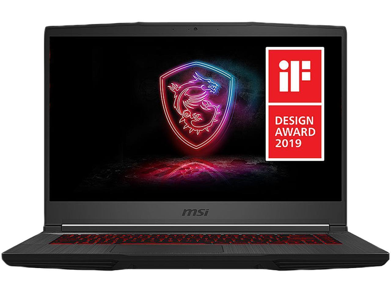 "Newegg: MSI GF65 Thin [15.6"" 144Hz Intel Core i5-9300H GeForce RTX 2060 8GB DDR4 512GB SSD] Gaming Laptop (plus $100 MIR & Free MSI Gaming Mouse) $899"