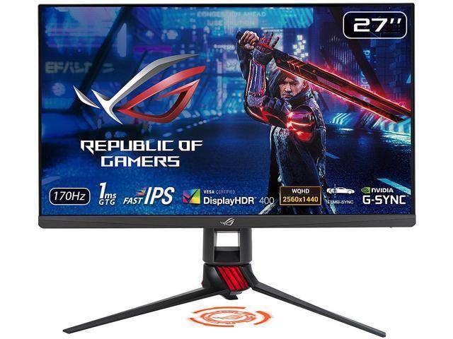 """ASUS ROG Strix XG279Q 27"""" Gaming Monitor [IPS, WQHD 2560 x 1440 (2K) 1ms (GTG) 170Hz (Overclocking)] for $499.99 + F/S"""