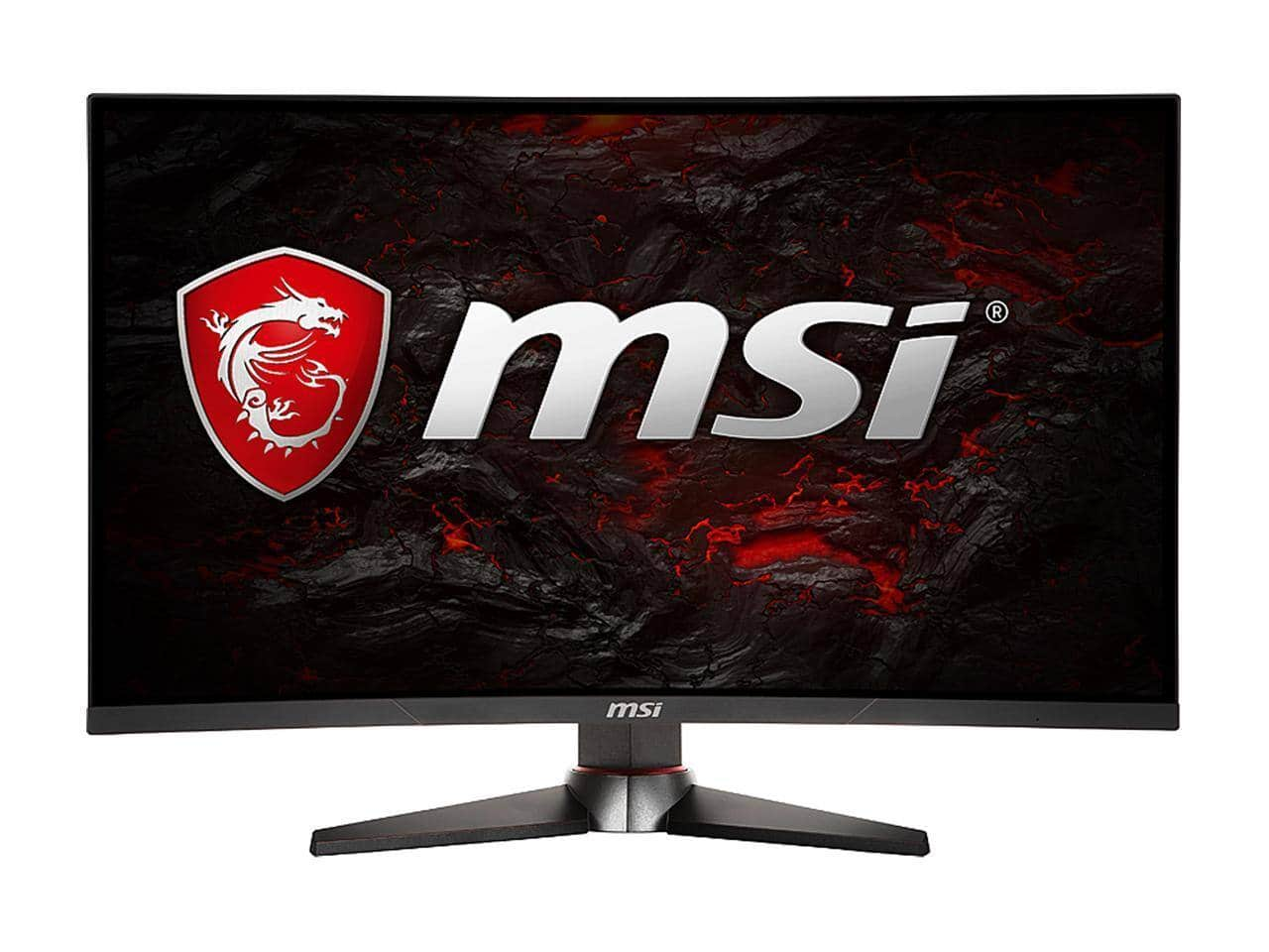 """MSI Optix MAG27CQ [27"""" 2560 x 1440 WQHD 2K Resolution 144Hz VA Panel] Curved Gaming Monitor for $239.99 after Promo Code + F/S"""