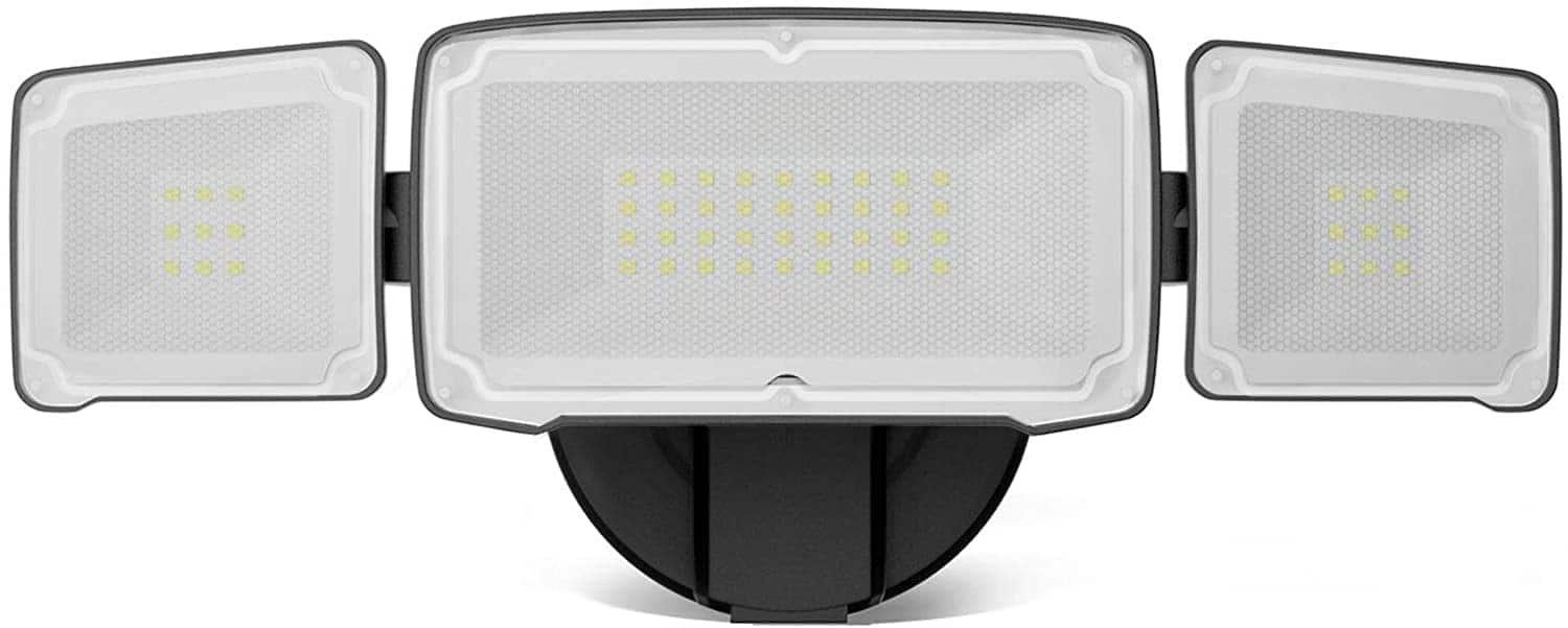 3800LM LED Flood Light Outdoor, Switch Controlled Security Light $16.99+ Free Shipping with PRIME