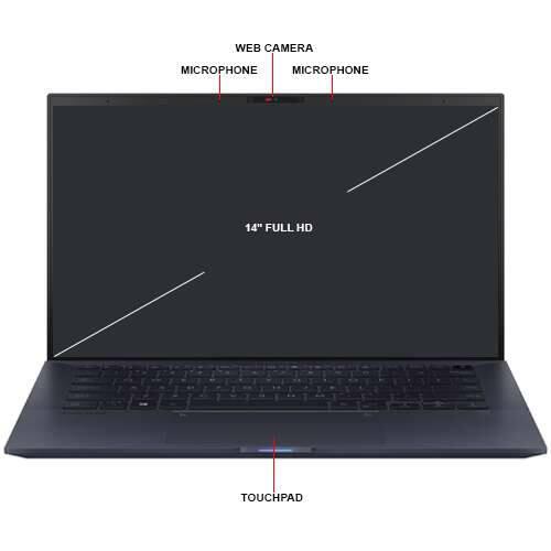 "Asus ExpertBook B9450FA 10th Gen i5 14"" Win 10 Pro w/ 8GB RAM & 512GB SSD - $799.99 + $14.99 Shipping"