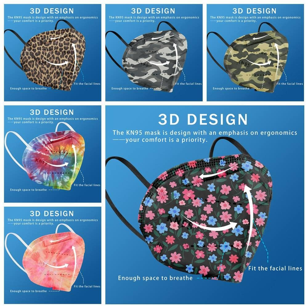 20-Pack Printed KN95 Mask Up to 80%OFF Only $4.80 + Free S/H