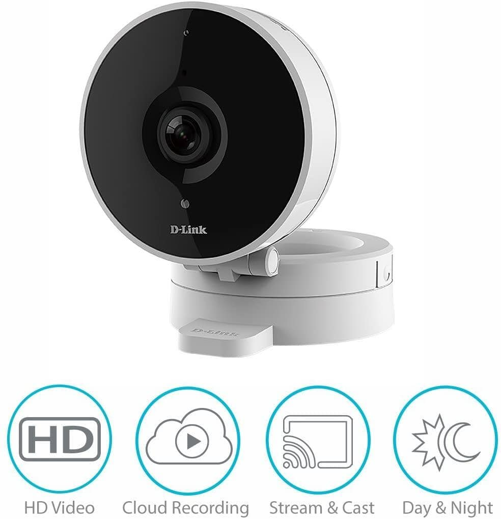 D-Link HD WiFi Indoor Security Camera Prime Deal, 30% off $42 + FS with PRIME