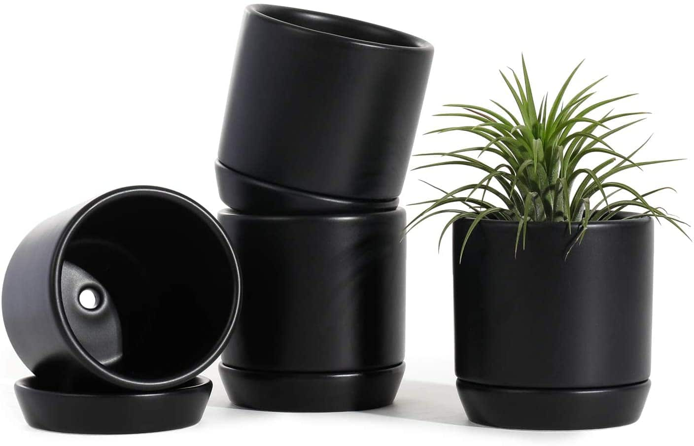 POTEY 3.1 Inch Succulent Planters Pots(6 colors) $8.49 to $16.24+ + Free Shipping w/Prime