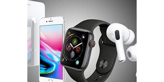 Apple iPhones, Watches, and AirPods (refurbished), $69.99 - $779.99 + FS w/ Prime