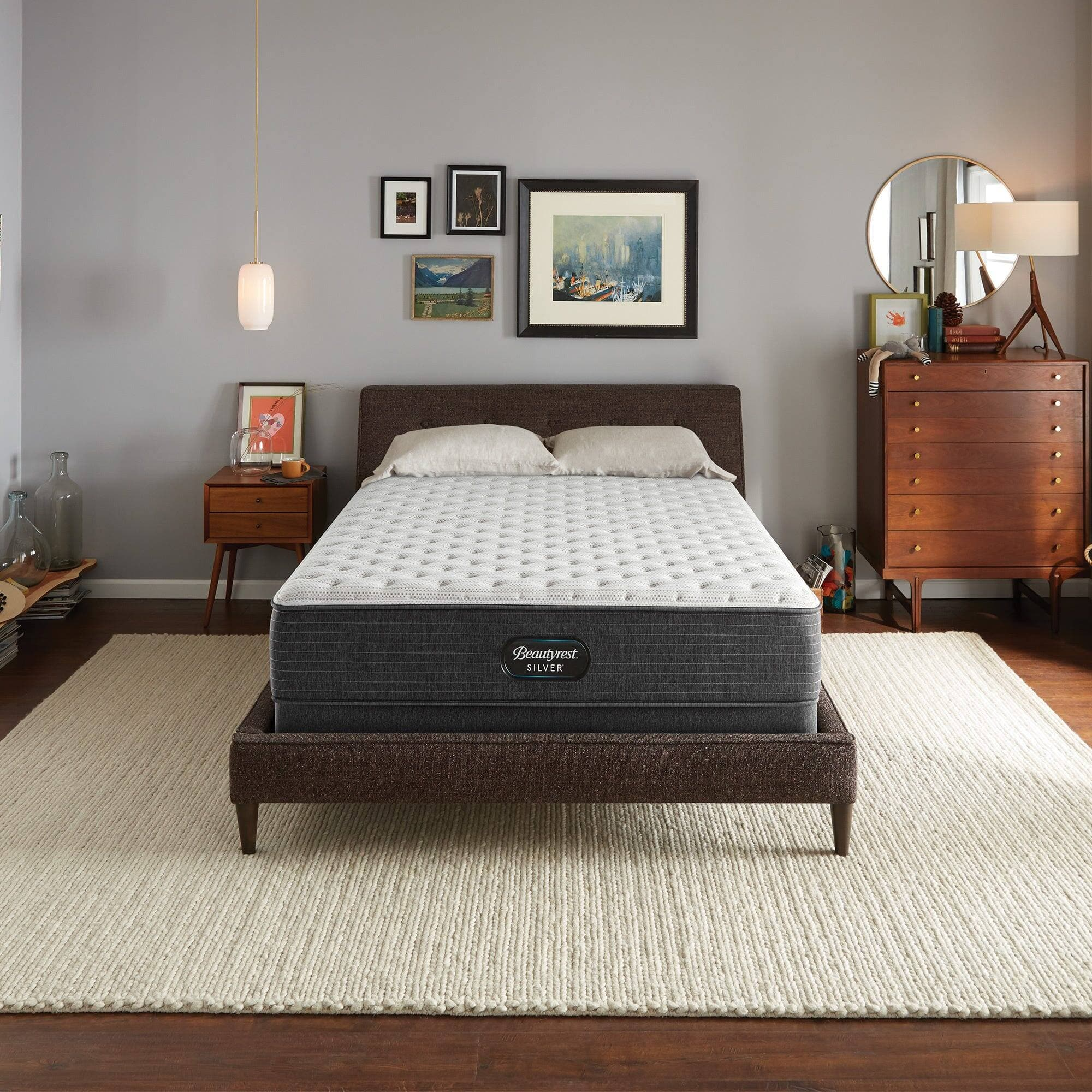 """Simmons Beautyrest BRS900 11.75"""" Pocketed Coil & Foam Mattress 