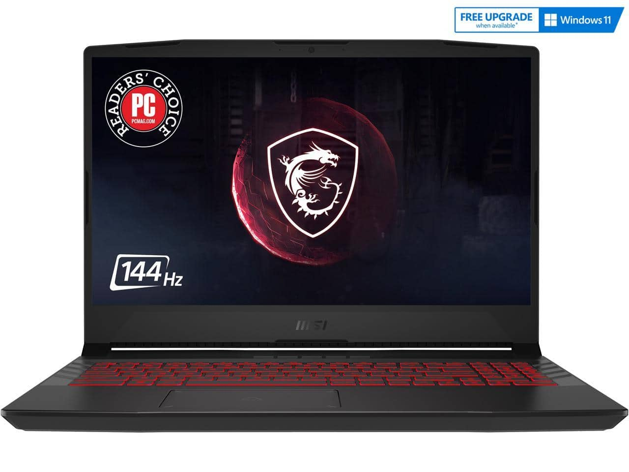 """MSI [15.6"""" 144Hz IPS,Intel Core i7-11800H,NVIDIA GeForce RTX3060,16GB DDR4,1TB HDD/512GB NVMe SSD]Gaming Laptop for $1299 w/ FS after MIR"""