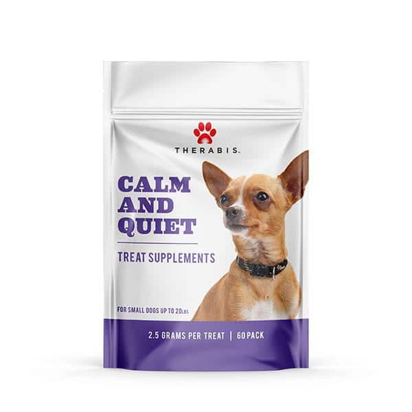 Therabis Calm and Quiet Treats for Small Dogs - Calming and Stress Relief :  $23.99 AC + FS