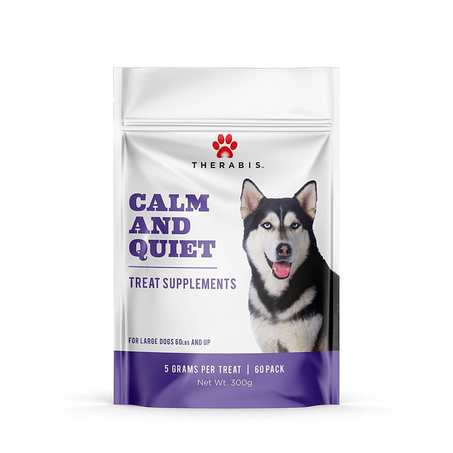 Therabis Calm and Quiet Treats for Large Dogs - Calming and Stress Relief : $43.99 AC + FS