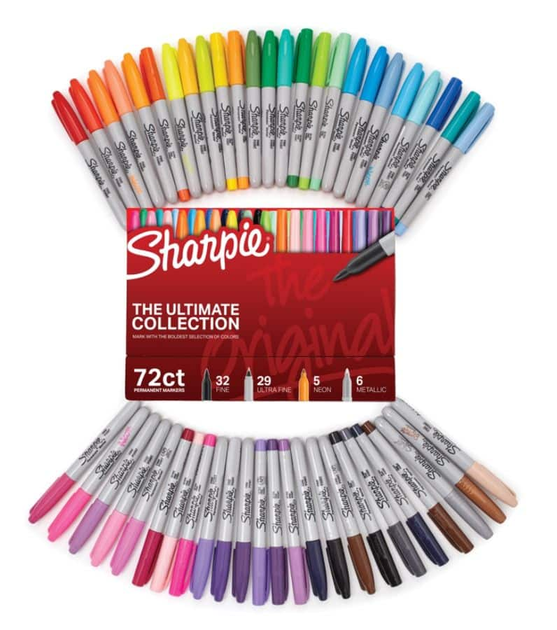 Sharpie 72Pc Ultimate Pack, Fine/Ultra Fine Point, Assorted Colors : $27.98 AC + $2.97 back in points + FS