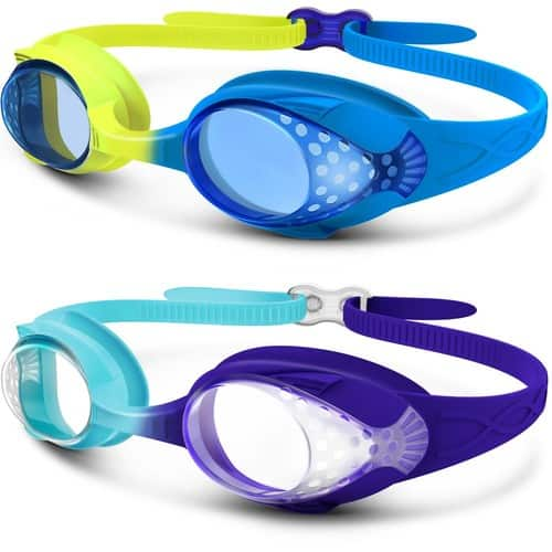 2 packs of kids swim goggles for $5.94 and dry bag for $6.49