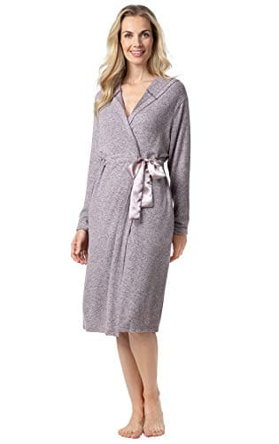 Fleece Lounge Robe for Women for $14.99 with 70% off Coupon + Free Prime Shipping
