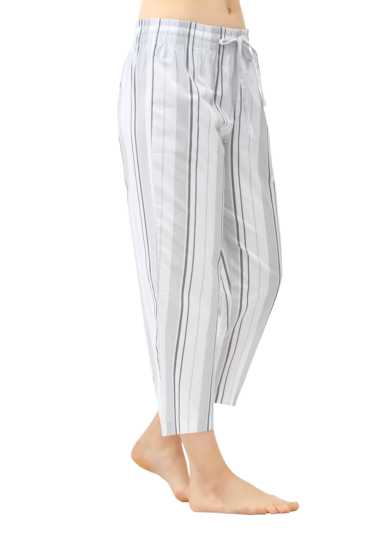 CYZ Women's 100% Cotton Woven Pajama Capri - $5.99 + FS