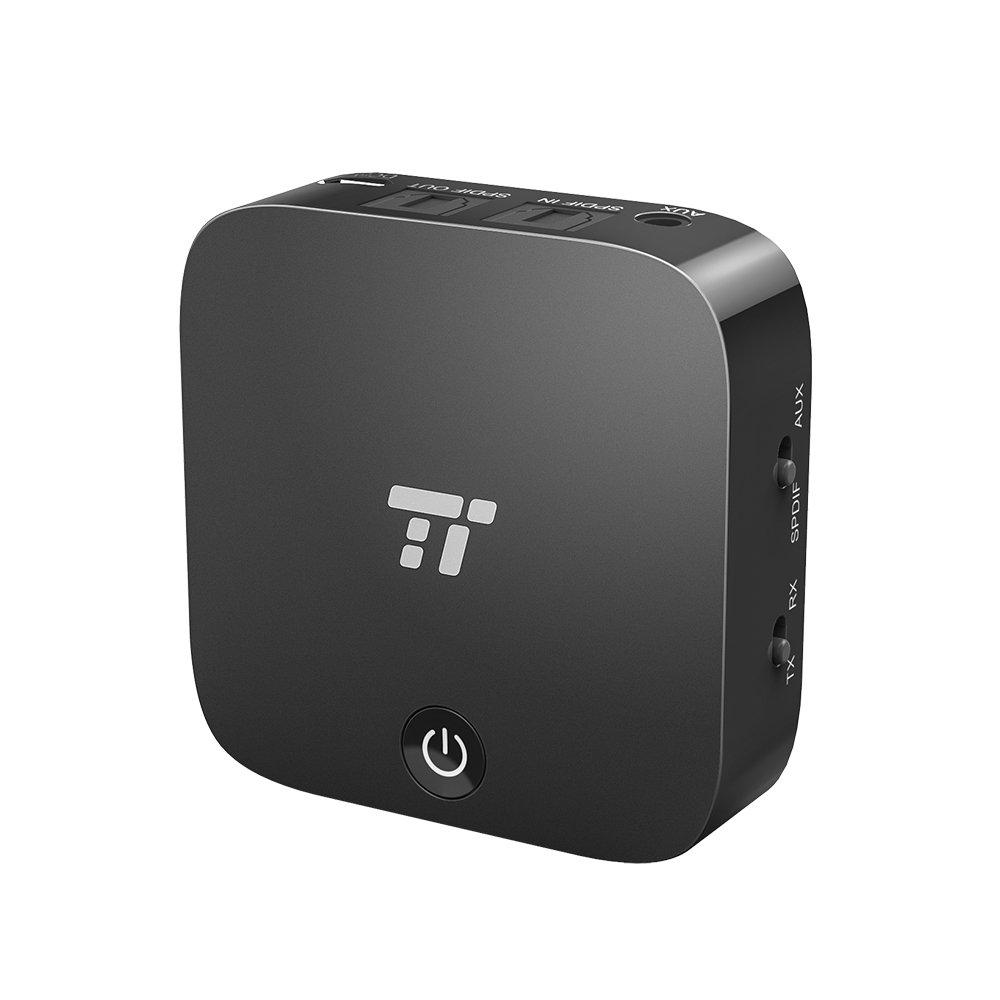 TaoTronics Optical Bluetooth Transmitter Receiver for TV $28.99