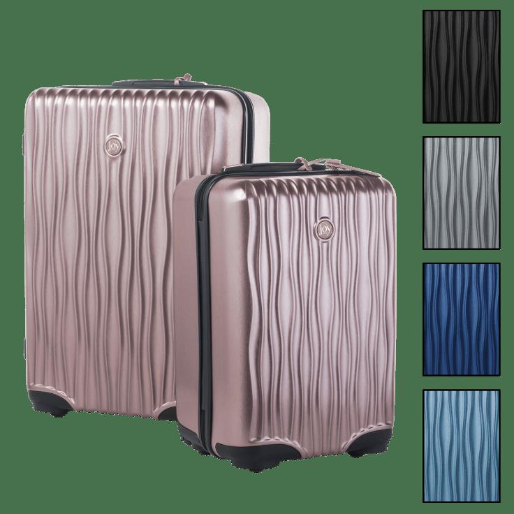 Joy Mangano Hardside Carry-On Luggage & XL Dresser Set $129 + FS