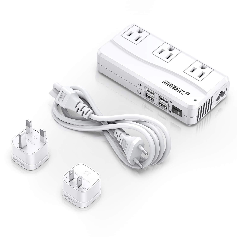 BESTEK Universal Travel Adapter & 220V to 110V Converter w