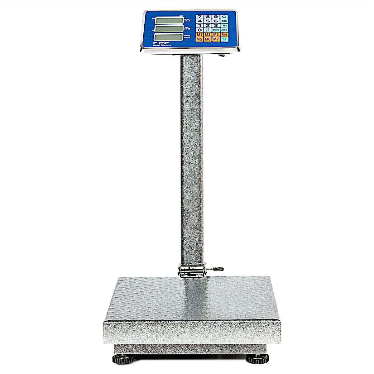 660 lbs Weight Platform Scale Digital Floor Folding Scale - $65.95 + Free Shipping
