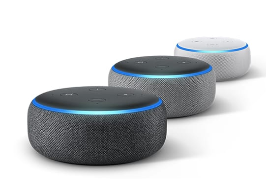 Amazon Echo Dot 3rd Gen (Used - $14.99), Echo Show (Used - $49.99) and more Amazon Devices