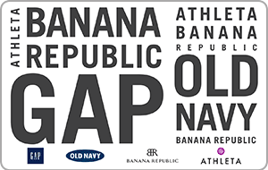 Buy a $50 Gap Options Card and get $5 Added Free! Promo Code GAP1119