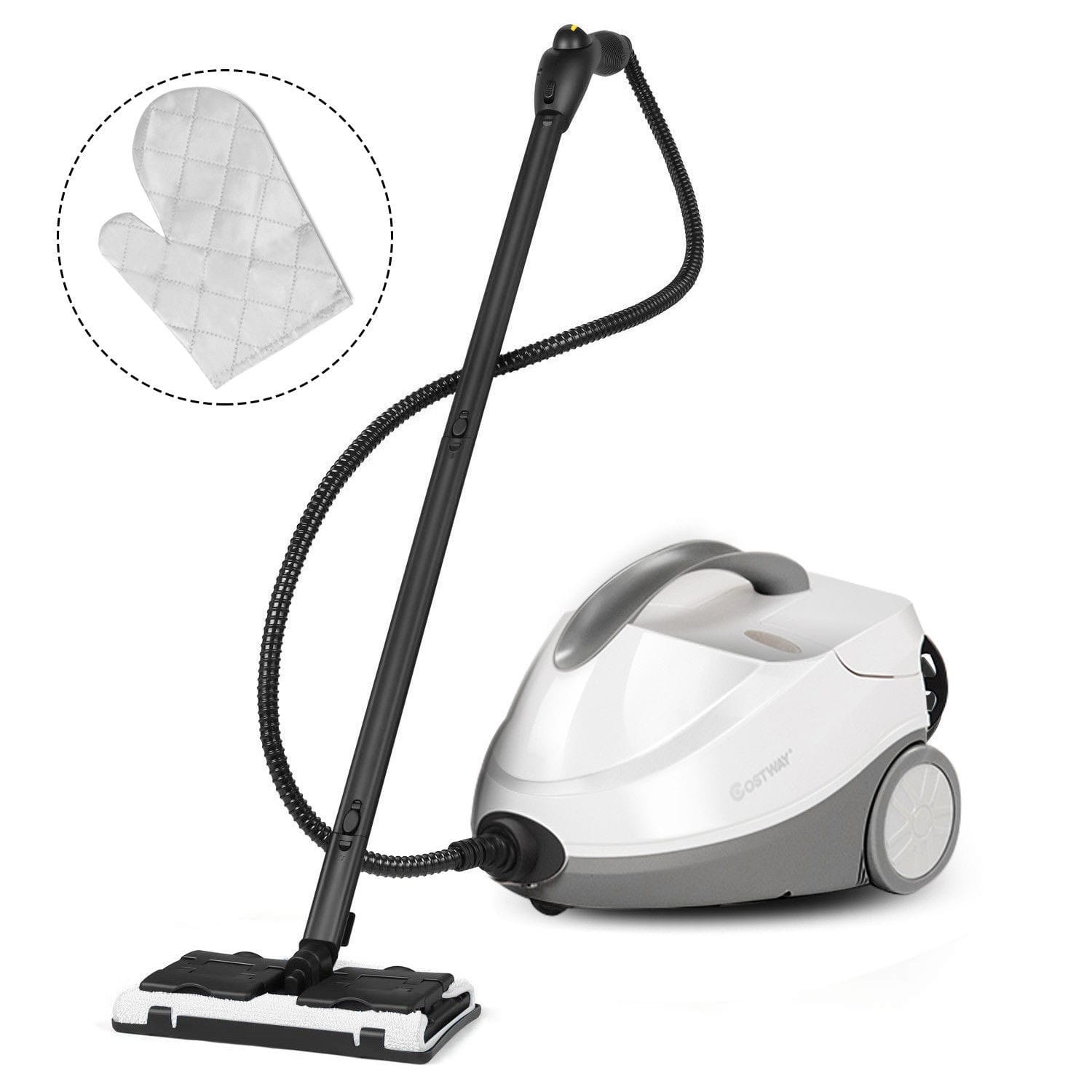 2000 W 1.5L Steam Cleaner Mop Multi-Purpose Steam Cleaning - $75.95 + Free Shipping