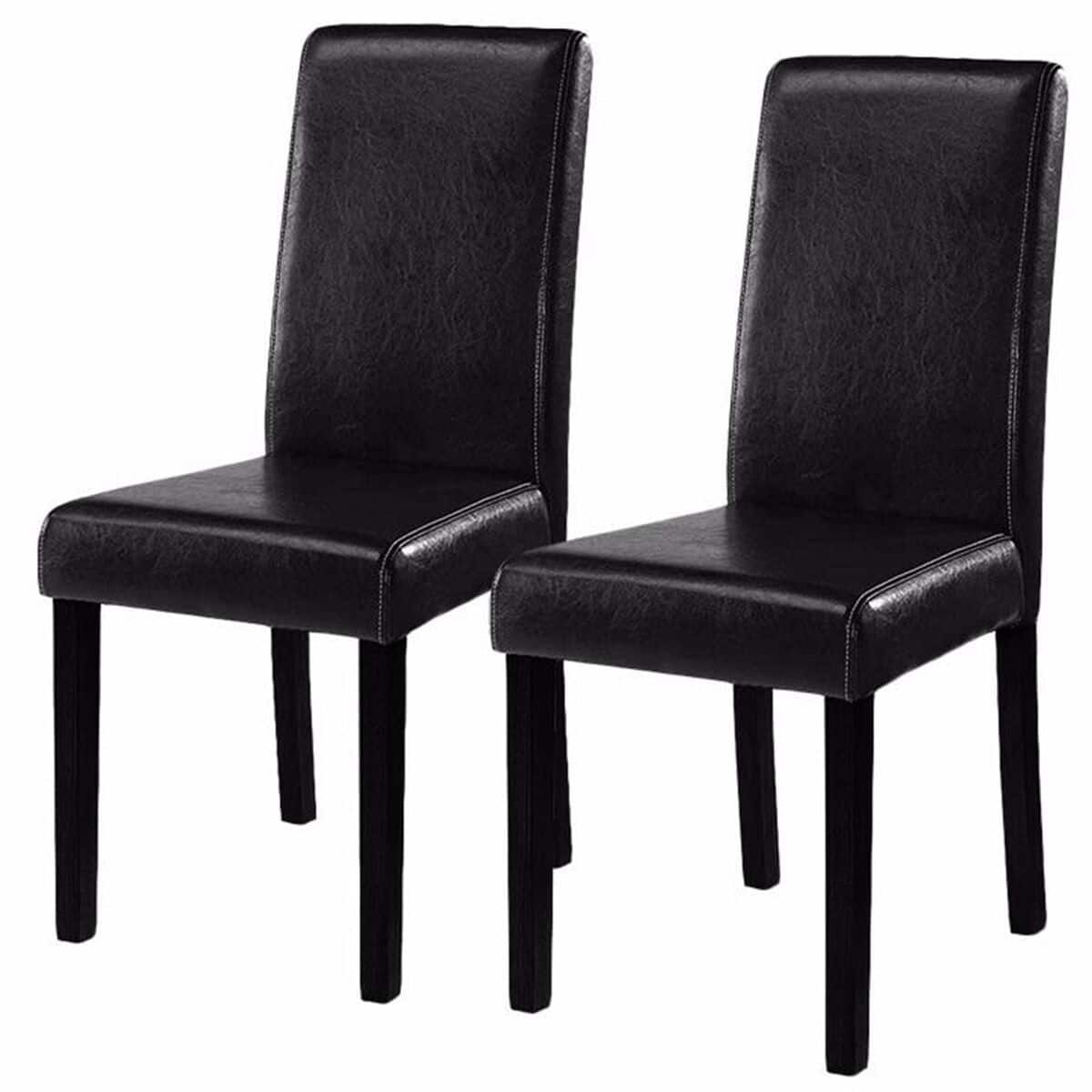 Set of 2 Contemporary Dining Chairs - $67.00 + Free Shipping