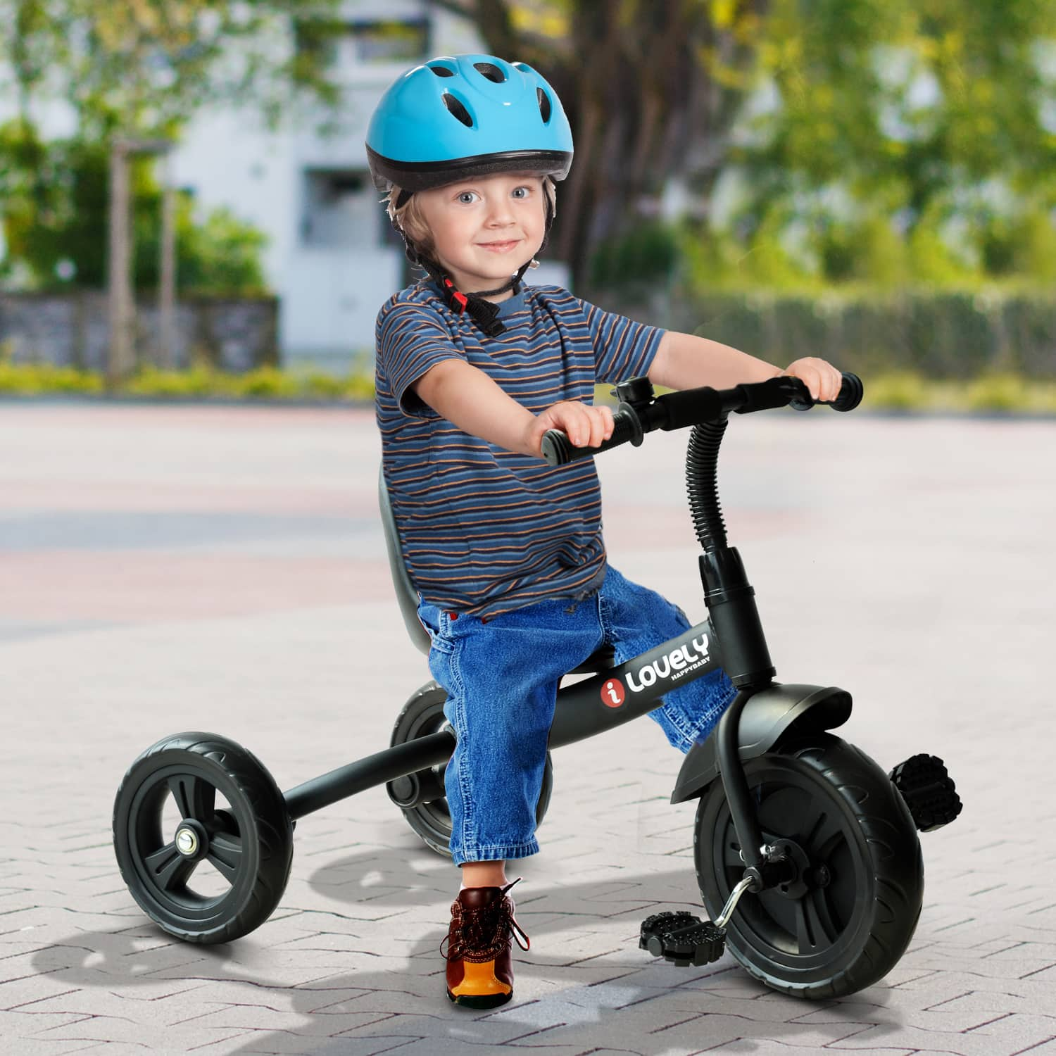 Qaba 3-Wheel Recreation Ride-On Toddler Tricycle with Bell - $34.99 + Free Shipping
