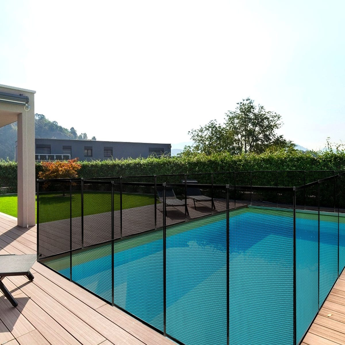 4' x 12' Swimming Pool Fence Garden Fence Child Barrier - $75.00 + Free Shipping