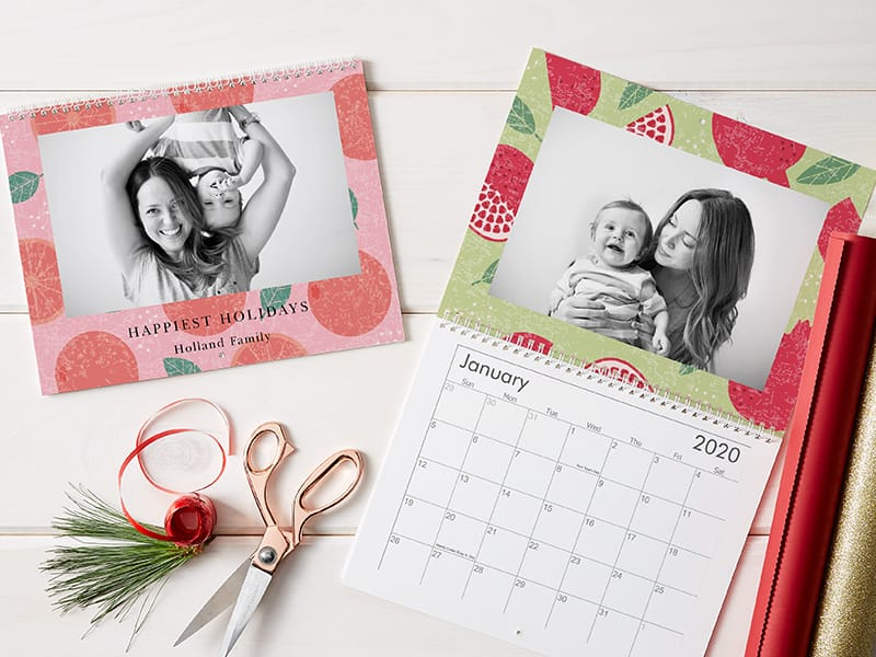 Vistaprint has up to 50% off personalized Wall Calendars