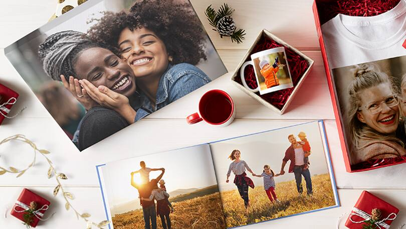 2 for 1 Personalized Photo Gifts such as personalized Pillows, Blanket, phone cases and more