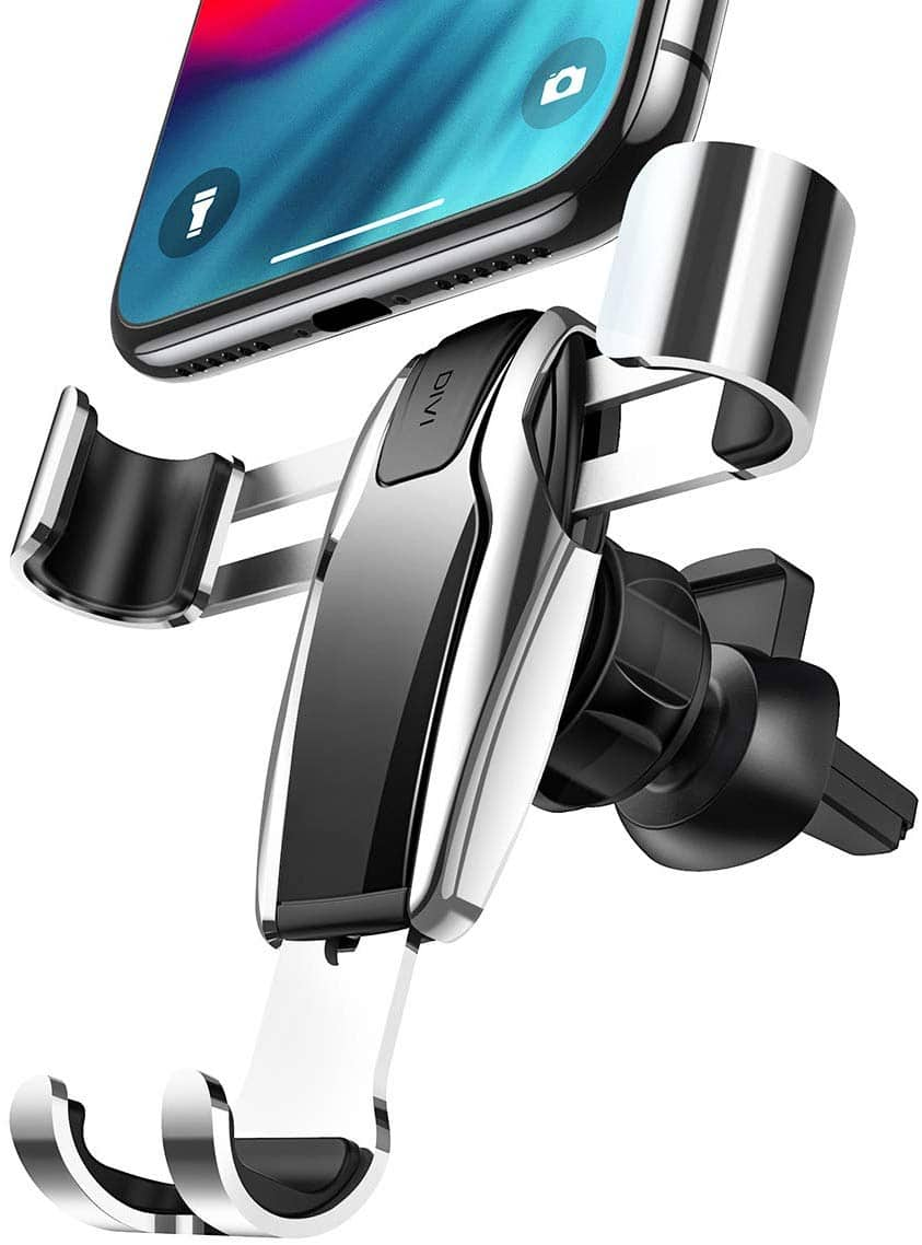 AINOPE Cell Phone Holder for Car, Gravity Car Phone Mount Auto-Clamping Air Vent Car Phone Holder for $3.77+ FSSS