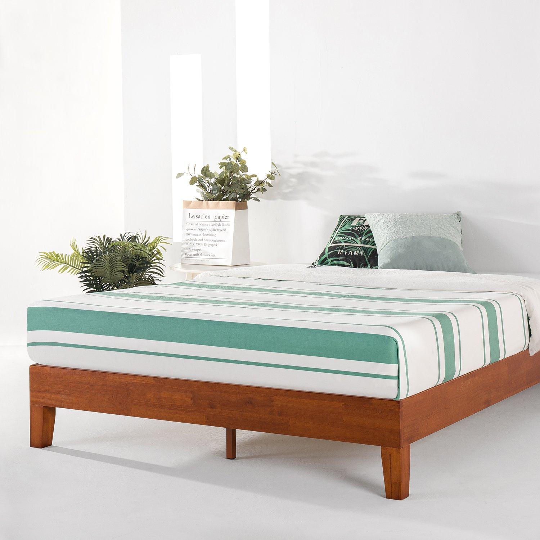 Mellow 12''; Grand Solid Wood Platform Bed Frame, King; $199.74 + FS