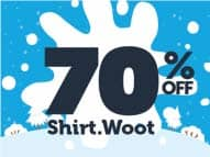 Woot Doorbuster deal. 70% off Shirts when you buy 2+ shirts from $15