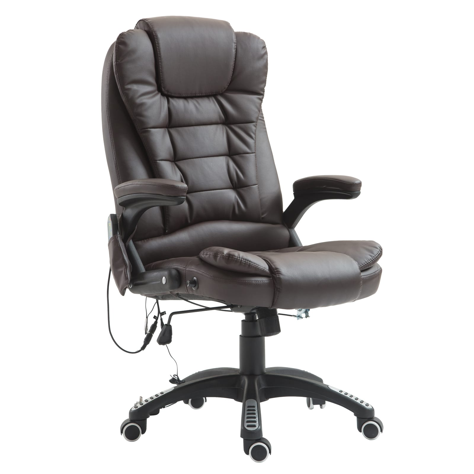 HomCom PU Leather Executive Ergonomic Heated Massage Office Chair - $109.99 + Free Shipping
