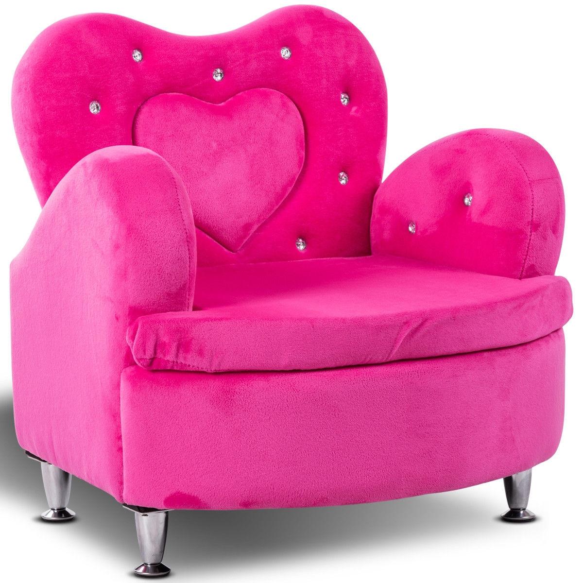 Soft Velvet Armrest Couch Toddler Sofa for $67.95 + FS