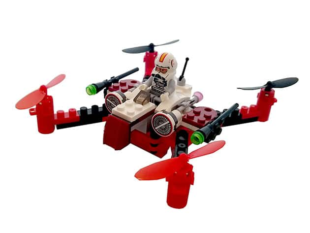 Space Fighter Building Block Drone $34