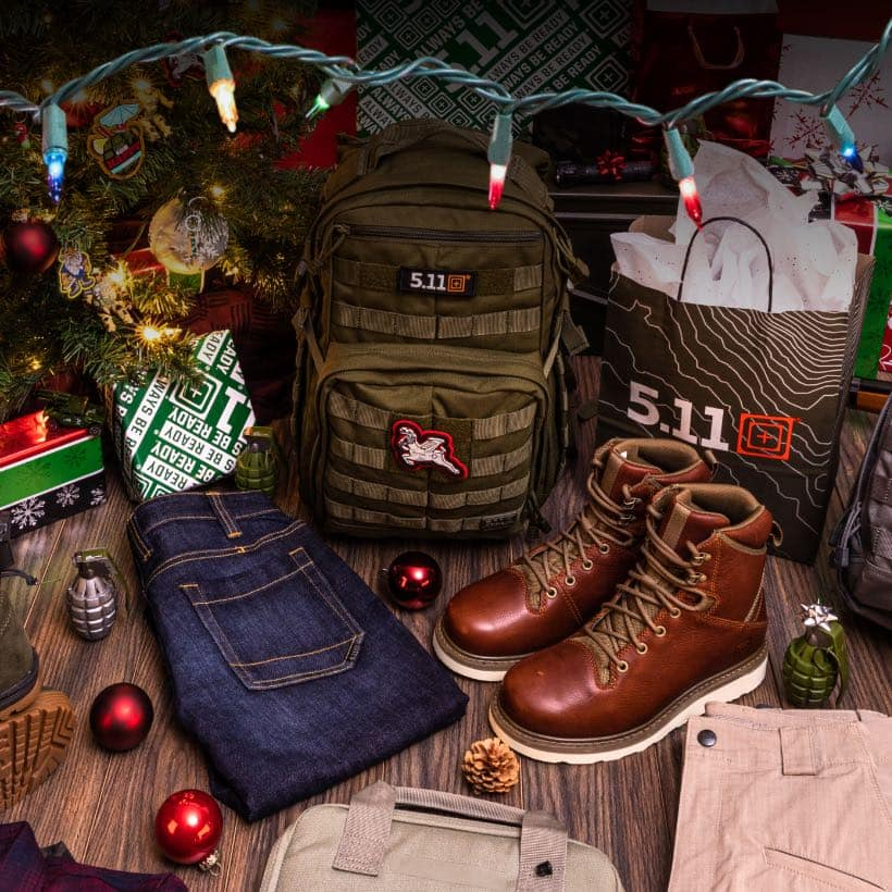 5.11 Tactical Black Friday sale! 25% Off! Everything you need for Operation Holiday!
