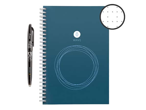 Rocketbook Wave Executive Smart Notebook with Pen Station $22.40
