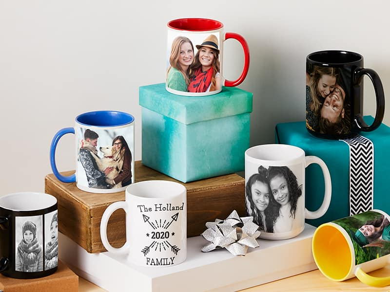 Buy 3 Personalized Mugs Get 2 Free from $31.50 total