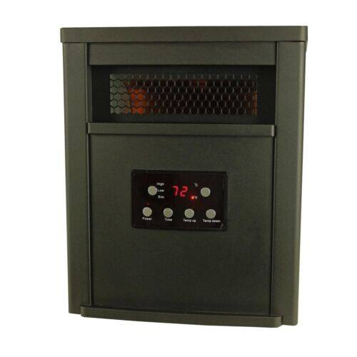 LifeSmart 6 Element 1500W Portable Electric Infrared Room Space Heater, Black for $64.95 + FS